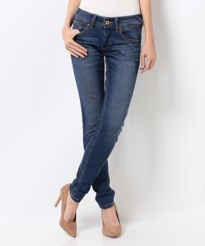 【TOMMY HILFIGER(トミーヒルフィガー)】ACL Low rise skinny Sophie QBVST