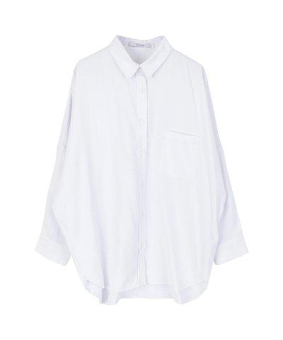【titivate(ティティベイト)】ドロップショルダービッグシャツ