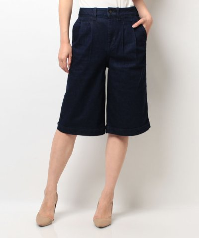 【TOMMY HILFIGER(トミーヒルフィガー)】AJ PLEATED HW CULOTTE SALOME