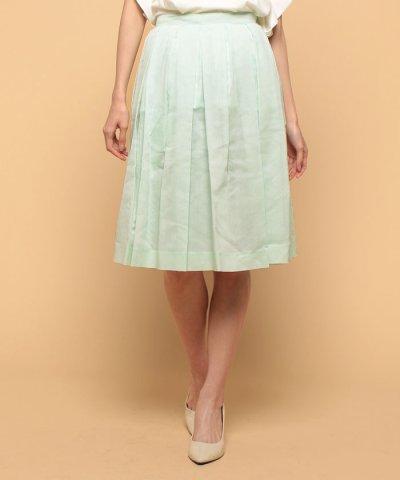 【beautifulpeople(ビューティフルピープル)】s/c organdie tuck skirt