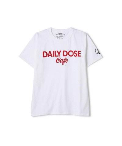 【FREE'S MART(フリーズマート)】Daily Dose Cafe コラボロゴTシャツ