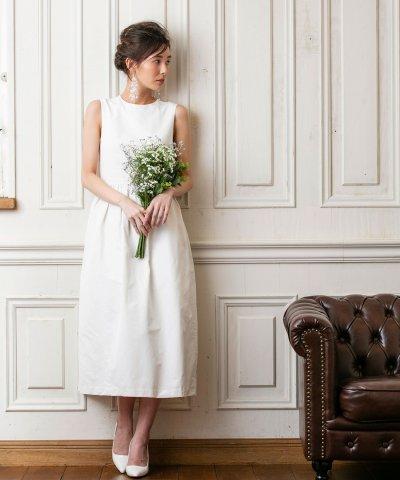 【form forma(フォルムフォルマ)】【kaene】ノースリーブ ロングウェディングドレス