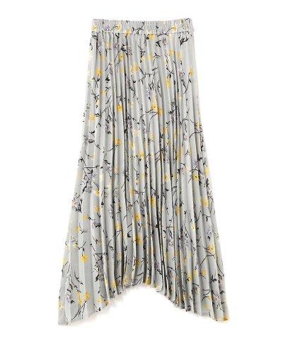 【PROPORTION BODY DRESSING(プロポーション ボディドレッシング)】《BLANCHIC》フラワープリーツスカート