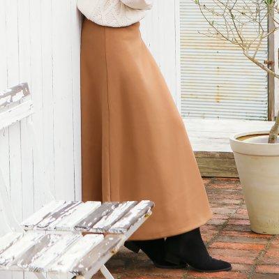【KOBE LETTUCE(神戸レタス)】【暖トツ】マキシスカート