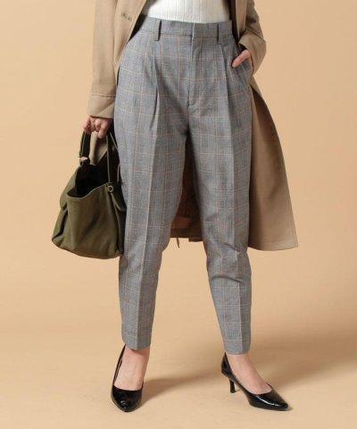 【beautifulpeople(ビューティフルピープル)】c/nylon glen check tucked pants