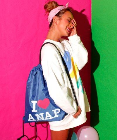 【ANAP(アナップ)】ANAPロゴナップザック