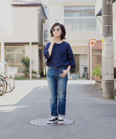 【LEVI'S(リーバイス)】501(R) CT JEANS FOR WOMEN ROASTED INDIGO