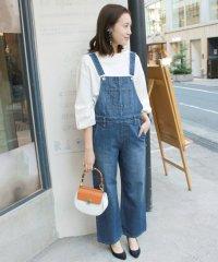 <d fashion>LE DENIM デニムオーバーオール◆画像