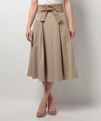 【Mystrada(マイストラーダ)】【VERY 6月号掲載】<追加生産>サッシュベルト付きスカート