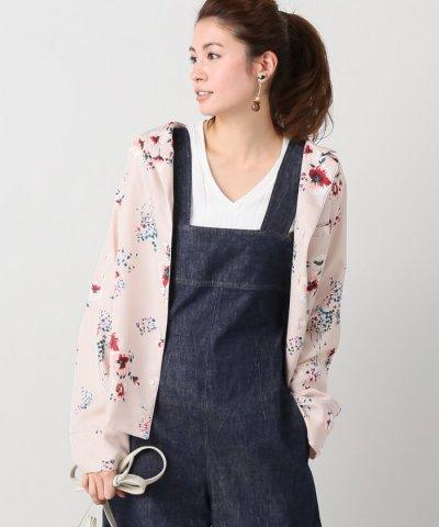 【IENA(イエナ)】フラワー パジャマ シャツ