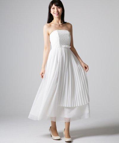 【form forma(フォルムフォルマ)】【ウェディングドレス】ベアトップ ロングウェディングドレス