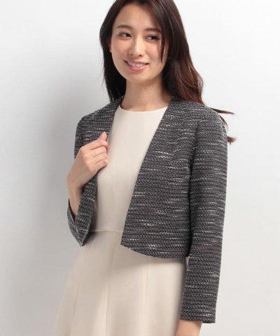 【form forma(フォルムフォルマ)】【セレモニー】羽織タイプ ツィードジャケット