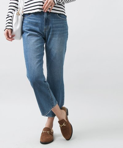 【WEGO(ウィゴー)】Cropped Flare Jeans