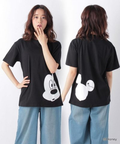 【VENCE EXCHANGE(ヴァンスエクスチェンジ)】Disney(ディズニー) ミッキー&ミニーTシャツ