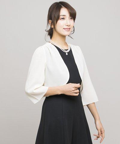 袖付きジャケット風ボレロ