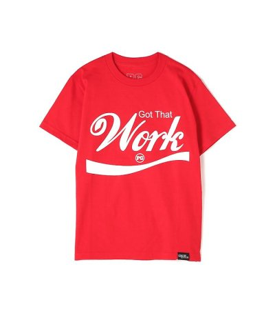 【FREE'S MART(フリーズマート)】《Planet of the Grapes》Work ロゴTシャツ
