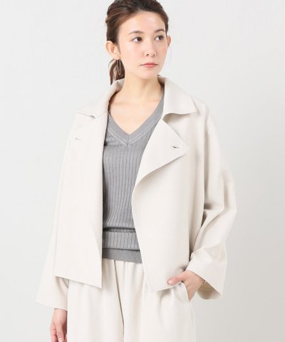 【IENA(イエナ)】AILE シルクOX P?ジャケット