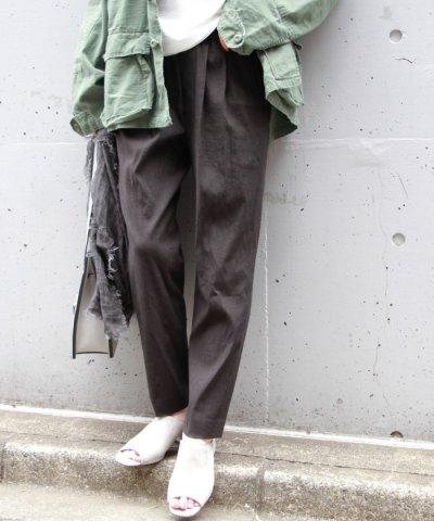 【JOURNAL STANDARD(ジャーナルスタンダード)】リネンビスWゴム テーパードパンツ◆