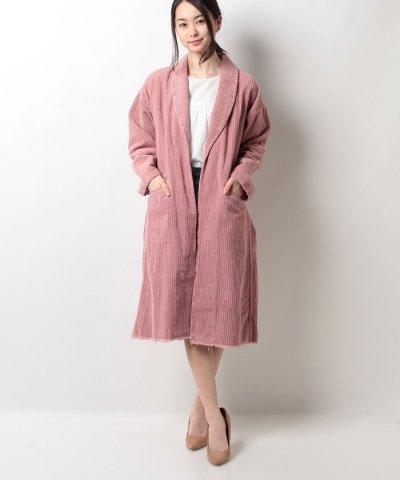 【Factor=(ファクターイコール)】コーデュロイジャケットコート