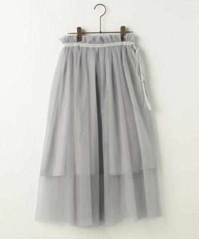 【Ray Cassin(レイカズン)】3WAYベロアリボンチュールスカート