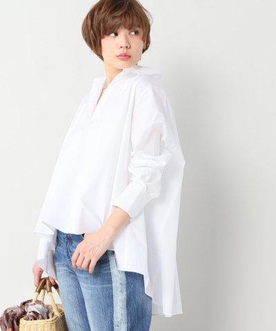 【IENA(イエナ)】hana san スキッパーAラインブラウス