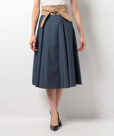 【Mystrada(マイストラーダ)】【VERY 6月号掲載】サッシュベルト付スカート