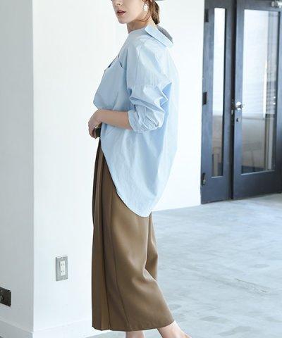 【marjour(マージュール)】[VERY4月号掲載]スリーブスキッパーシャツ