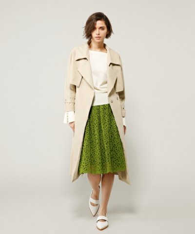 【PEGGY LANA(ペギーラナ)】Flare York Trench CT