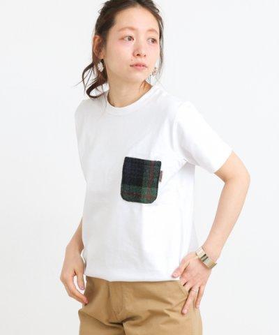 【URBAN RESEARCH Sonny Label(アーバンリサーチサニーレーベル)】ハリスツイードポケット付きTシャツ