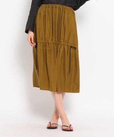 【DRESSTERIOR(ドレステリア)】TELA シルクギャザー使いスカート