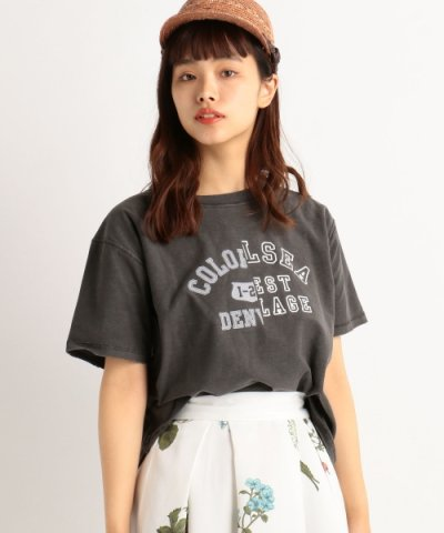 【Ray Cassin(レイカズン)】カレッジロゴTシャツ