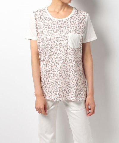 【TOMMY HILFIGER(トミーヒルフィガー)】AC RAE FLORAL PKT TEE SS
