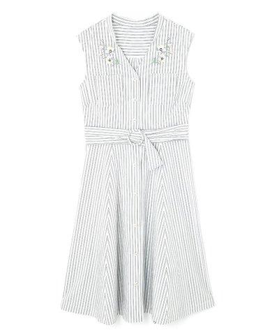 【JILL by JILLSTUART(ジルバイジルスチュアート)】BOUQUET SHIRT DRESS