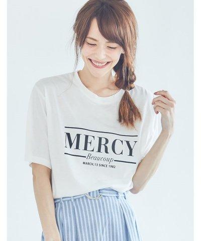 【Re:EDIT(リエディ)】シンプルロゴTシャツ