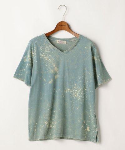【Ray Cassin(レイカズン)】VネックTシャツ(無地/ペイント)