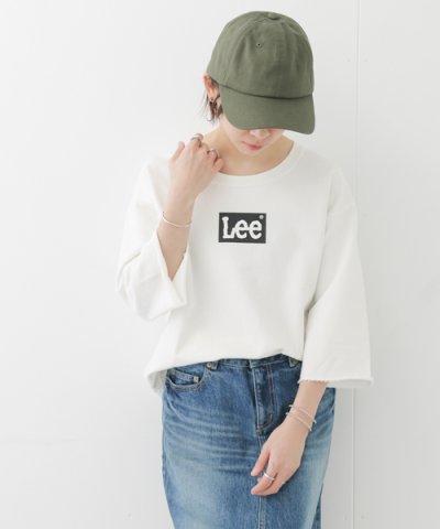 【URBAN RESEARCH DOORS(アーバンリサーチドアーズ)】Lee×DOORS?natural? LOGO SHORT SWEAT