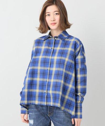 【JOURNAL STANDARD(ジャーナルスタンダード)】【ROSEanna/ローズアンナ】チェックワイドシャツ