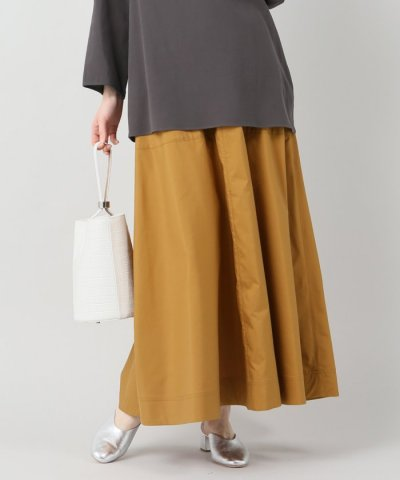【IENA(イエナ)】AILE C/S ウェザーAライン ロングスカート
