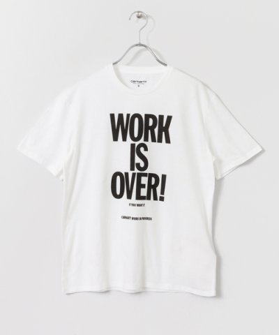 【URBAN RESEARCH Sonny Label(アーバンリサーチサニーレーベル)】carhartt SHORT?SLEEVE WORK IS OVER T?SHIRTS