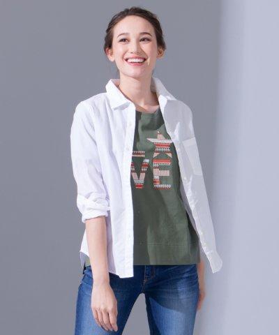 【YANUK】コットンシャツ