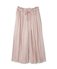 <dfashion> SATIN DRAPE PANTS画像