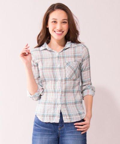 【YANUK】チェックシャツ