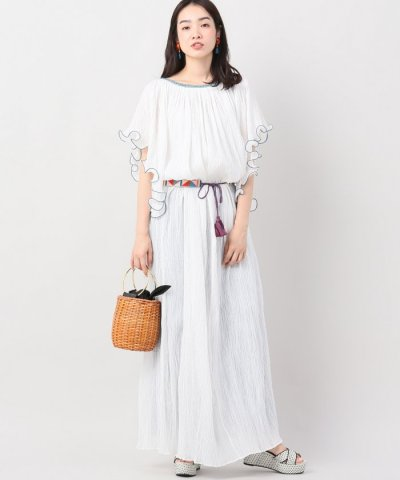 <d fashion>TALITHA BELTED SERENA ワンピース