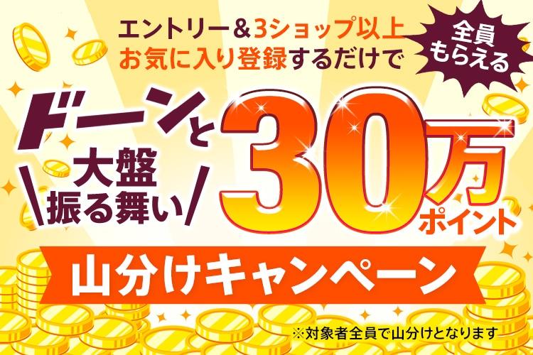 【dポイント大量GET】30万ポイント山分け!3ショップ以上お気に入り登録でもれなくポイントプレゼント!