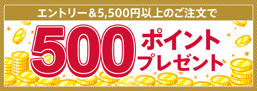 【dポイント大量GET】【dマーケットマスターのあなたへ】エントリー&5,500円以上購入で500ポイントプレゼント!
