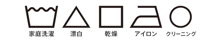 新洗濯表示の5つの基本記号