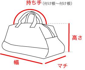 バッグの測り方
