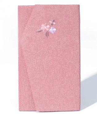 【ブラックフォーマル・喪服・礼服・葬式・セレモニー・結婚式】刺繍が上品な日本製ちりめん金封袱紗