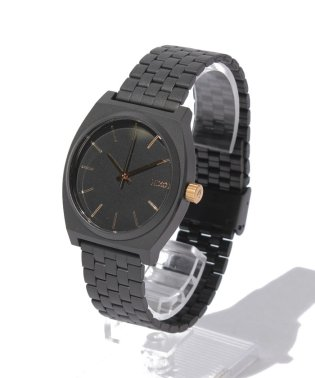 TIME TELLER: MATTE BLACK/GOLD