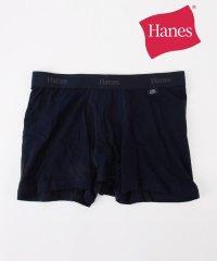 Hanes×SHIPS: 消臭糸使用 コットン ストレッチ ソリッド ボクサーパンツ